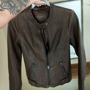 Final Price Cut! NWOT NEVER WORN leather jacket